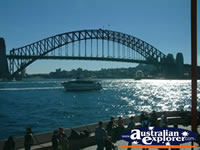Scenic View of Sydney Harbour Bridge . . . CLICK TO ENLARGE