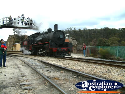 Lithgow Steam Train at Zig Zag Railway . . . VIEW ALL LITHGOW PHOTOGRAPHS