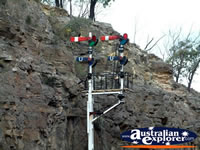 Lithgow, Zig Zag Railway Lights . . . CLICK TO ENLARGE