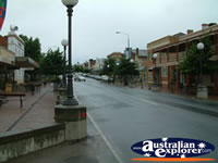Cloudy Corowa Street . . . CLICK TO ENLARGE