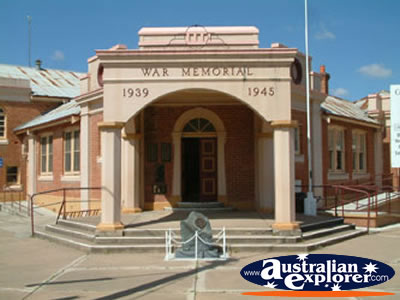 Culcairn Memorial Hall . . . CLICK TO VIEW ALL CULCAIRN POSTCARDS
