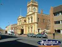 View from Street of Maitland Town Hall . . . CLICK TO ENLARGE