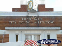 Lithgow Town Clock . . . CLICK TO ENLARGE