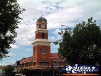Albury Clock . . . CLICK TO ENLARGE