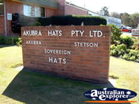 Kempsey, Akubra Workshop Entrance . . . CLICK TO ENLARGE