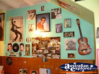 Windsor, Rock'n'Roll Cafe Elvis Wall . . . CLICK TO ENLARGE