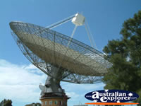 Close up of Parkes Australian Telescope . . . CLICK TO ENLARGE