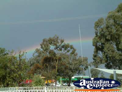 Rainbow in Parkes . . . VIEW ALL PARKES PHOTOGRAPHS