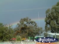 Rainbow in Parkes . . . CLICK TO ENLARGE