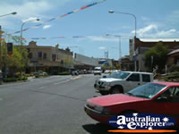 View Down Parkes Main Street . . . CLICK TO ENLARGE