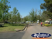 Lake Talbot Caravan Park in Narrandera . . . CLICK TO ENLARGE