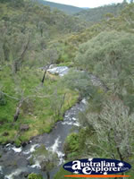 View of Tumbarumba Waterfall . . . CLICK TO ENLARGE