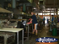 Kempsey, Akubra Inside Workshop . . . CLICK TO ENLARGE