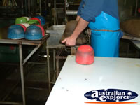 Kempsey, Akubra Shaping Process . . . CLICK TO ENLARGE