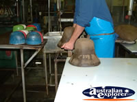 Akubra Shaping Process . . . CLICK TO ENLARGE