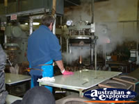 Hard at Work in the Akubra Factory . . . CLICK TO ENLARGE