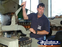 Kempsey, Akubra Machinery at Workshop . . . CLICK TO ENLARGE
