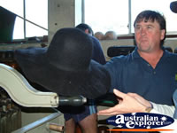 Kempsey, Black Akubra . . . CLICK TO ENLARGE