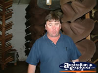 Whistling Worker in Kempsey, Akubra . . . CLICK TO ENLARGE