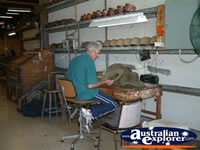 Kempsey, Akubra Factory Worker . . . CLICK TO ENLARGE