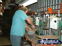 Making of Akubra's in Kempsey . . . CLICK TO ENLARGE