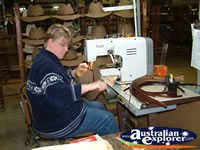 Machines for making Akubra . . . CLICK TO ENLARGE