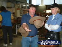 Akubra Workshop Workers . . . CLICK TO ENLARGE