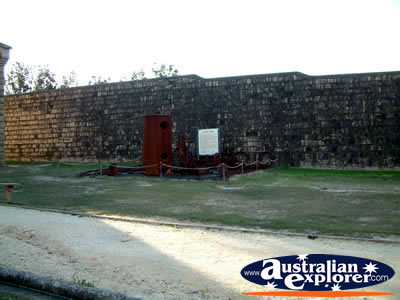 View from Outside of South West Rocks, Trial Bay Gaol . . . VIEW ALL TRIAL BAY (GAOL) PHOTOGRAPHS