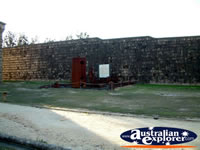 View from Outside of South West Rocks, Trial Bay Gaol . . . CLICK TO ENLARGE
