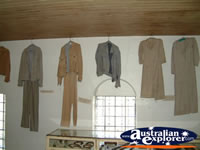 South West Rocks, Trial Bay Gaol Clothing . . . CLICK TO ENLARGE