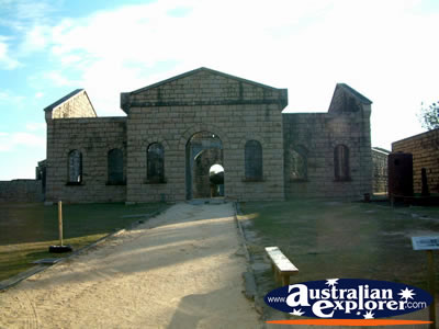 South West Rocks, Trial Bay Gaol . . . VIEW ALL TRIAL BAY (GAOL) PHOTOGRAPHS