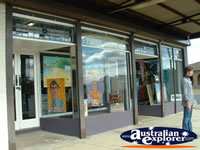 Bowraville Art Gallery Front Window . . . CLICK TO ENLARGE