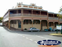 Bowraville Bowra Hotel from the Street . . . CLICK TO ENLARGE