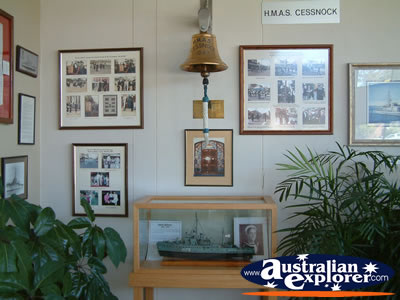 Inside the Council Chambers in Cessnock . . . CLICK TO VIEW ALL CESSNOCK POSTCARDS