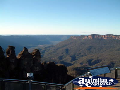 View of Katoomba Echo Point . . . VIEW ALL KATOOMBA PHOTOGRAPHS
