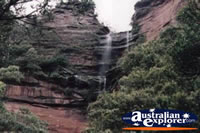 Waterfall in the Blue Mountains . . . CLICK TO ENLARGE