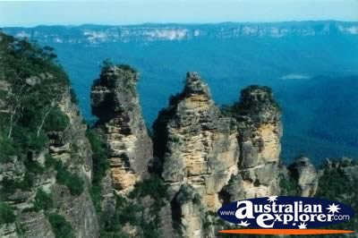 Three Sisters in the Blue Mountains . . . VIEW ALL WALLAMAN FALLS PHOTOGRAPHS