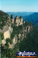 Stunning View of Three Sisters in the Blue Mountains . . . CLICK TO ENLARGE