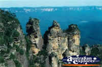 Three Sisters in the Blue Mountains . . . CLICK TO ENLARGE