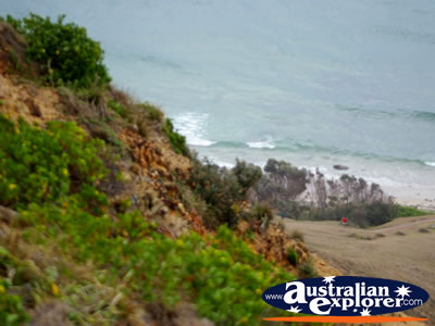 View from Cape Byron Headland . . . CLICK TO VIEW ALL CAPE BYRON POSTCARDS