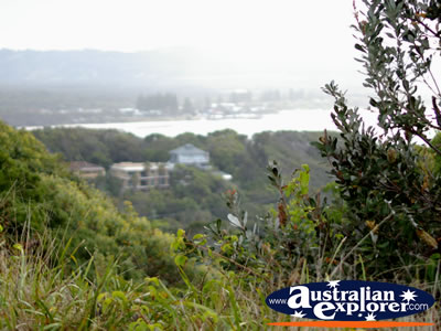 View from Cape Byron . . . CLICK TO VIEW ALL CAPE BYRON POSTCARDS
