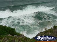 Waves breaking at Cape Byron . . . CLICK TO ENLARGE