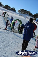 Perisher Blue Skiing Kids . . . CLICK TO ENLARGE