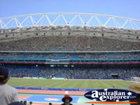 View of Olympic Stadium in Sydney . . . CLICK TO ENLARGE