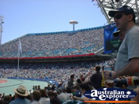 Olympic Stadium Crowd in Sydney . . . CLICK TO ENLARGE