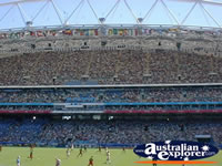 Olympic Stadium and Field in Sydney . . . CLICK TO ENLARGE