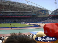 Olympic Stadium - Sydney . . . CLICK TO ENLARGE