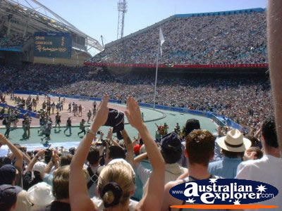 Olympic Stadium - Sydney Crowd Applause . . . CLICK TO VIEW ALL SYDNEY (OLYMPIC STADIUM) POSTCARDS