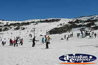 Views of Skiing in Snowy Mountains . . . CLICK TO ENLARGE