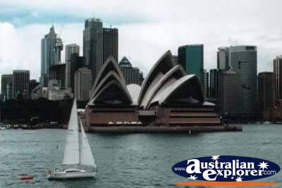 View of Sydney and Sydney Opera House . . . VIEW ALL SYDNEY HARBOUR PHOTOGRAPHS